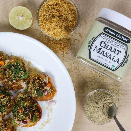 Urban Platter Chaat Masala, 300g [All Natural & Premium Quality blend of 15 Spices, Herbs & Salts]