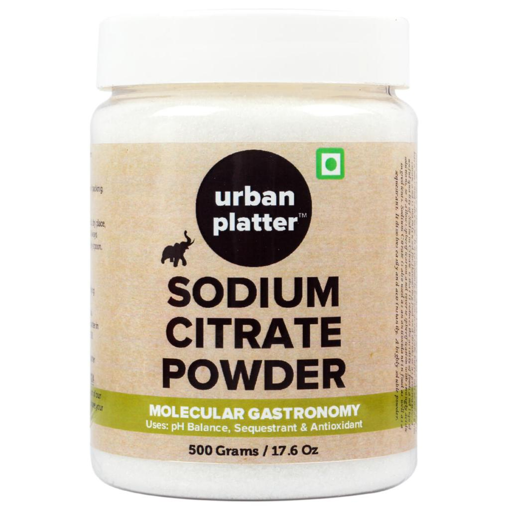 Urban Platter Sodium Citrate Powder, 500g / 17.64oz [Spherification, Alkalizing, Antioxidant]