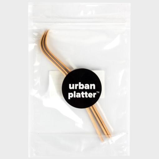 Urban Platter Bamboo Matcha Spoon (Chashaku), [Pack of 3]