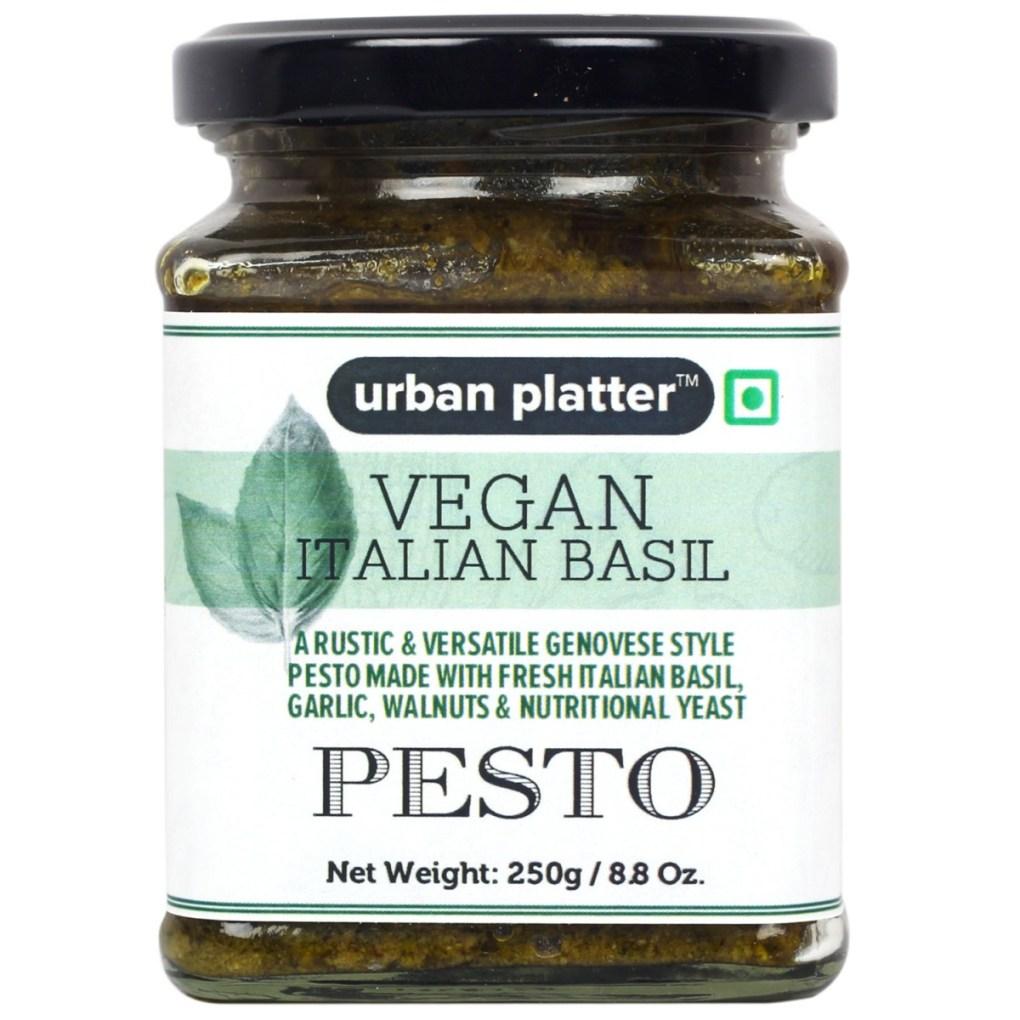 Urban Platter Vegan Italian Basil Pesto, 250g