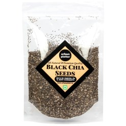 Urban Platter Black Chia Seeds, 1Kg [Rich in Antioxidants & Omega-3 Fatty Acids]