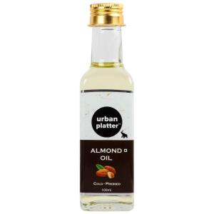 Urban Platter Cold-Pressed Almond Oil, 100ml [All Natural, Nourishing & Moisturizing]