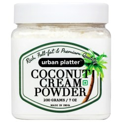 Urban Platter Coconut Cream Powder, 200g [Rich, Full-fat & Premium Quality]