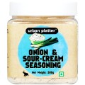 Urban Platter Onion & Sour-cream Seasoning Powder, 300g (Ideal for French-fries, Pop-corn, Snacks)