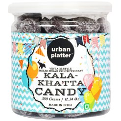 Urban Platter Kala-Khatta Candy, 350g [Vintage-style Boiled Sugar Confectionery]