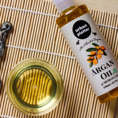 Urban Platter Argan Oil, 200ml / 6.7fl.oz [All Natural and Premium Quality, Product of Morocco]