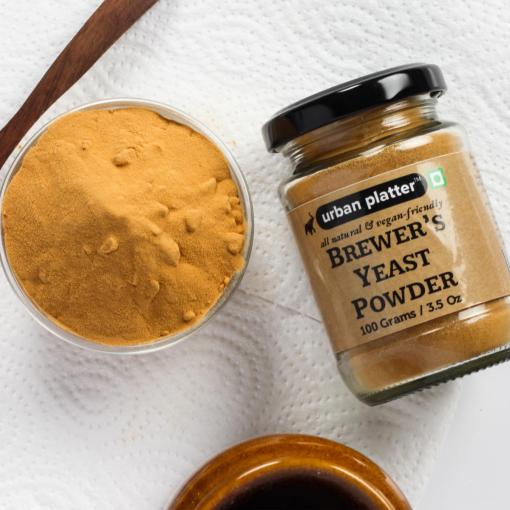 Urban Platter Brewer's Yeast Powder, 100g / 3.5oz [Nutritional, All Natural and Vegan-Friendly]