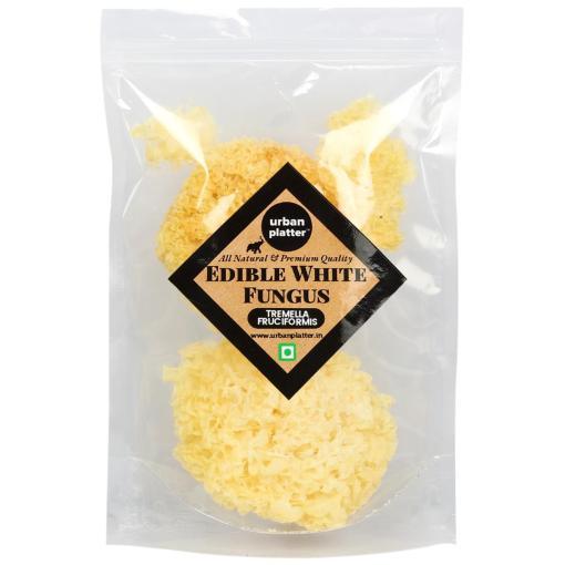 Urban Platter Edible White Fungus, 100g / 3.5oz [Immunity Booster, Nutritious, Snow Fungus]