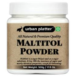 Urban Platter Maltitol Powder, 500g / 17.5oz [All Natural, Premium Quality, Sweetener]