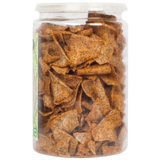 Urban Platter Roasted Ragi Millet Chips (Nachani Chips), 150g / 5.3oz [Crunchy, Spicy, Delicious]