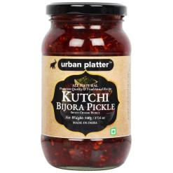 Urban Platter Kutchi Bijora (Sweet Citron) Pickle, 450g