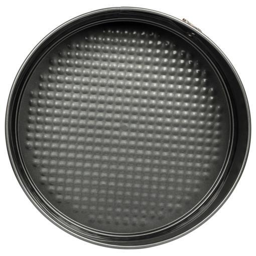 Urban Platter Black Aluminum Non-Stick Lift-And-Serve Quick Release Springform Baking Pan Cake Tin Moulds [Pack of 3, 24cm, 26cm & 28cms]