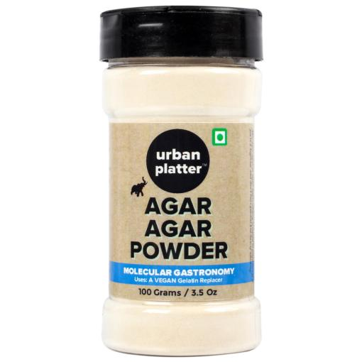 Urban Platter Agar Agar Powder, 100g [Vegetarian Gelatin Powder]