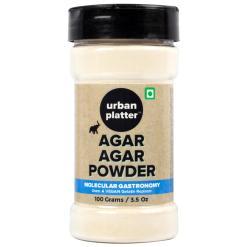 Urban Platter Agar Agar Powder, 100g [Vegetarian Gelatin Powder]