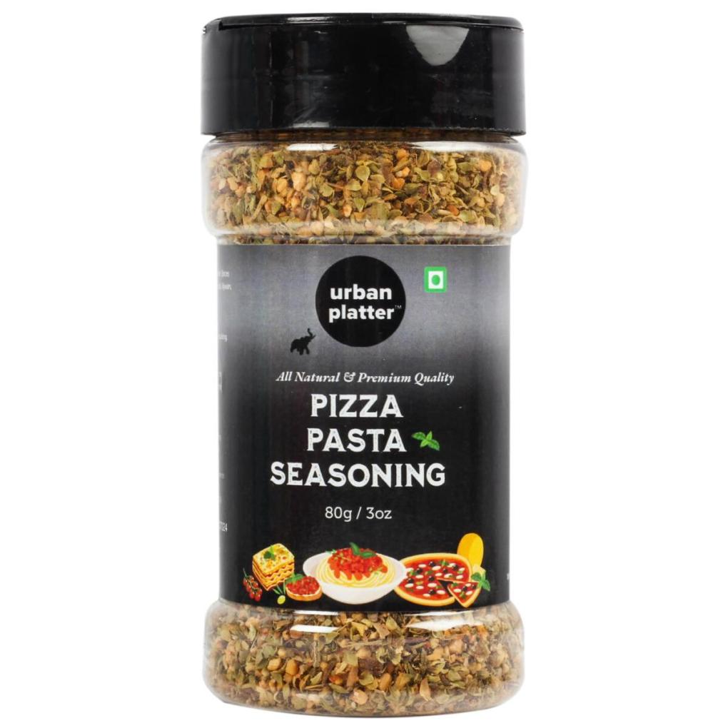 Urban Platter Pizza & Pasta Seasoning Shaker Jar, 80g / 2.82oz [Full of Aromatic Herbs & All Natural]