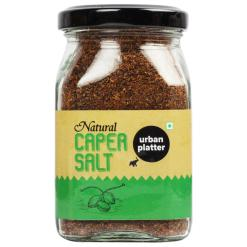 Urban Platter Natural Caper Salt, 135g / 4.8oz [Premium Quality, Tangy & Aromatic]