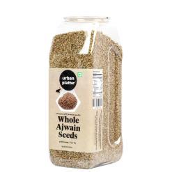 Urban Platter Whole Ajwain Seeds (Bishops Weed / Carroms Seeds),  400g