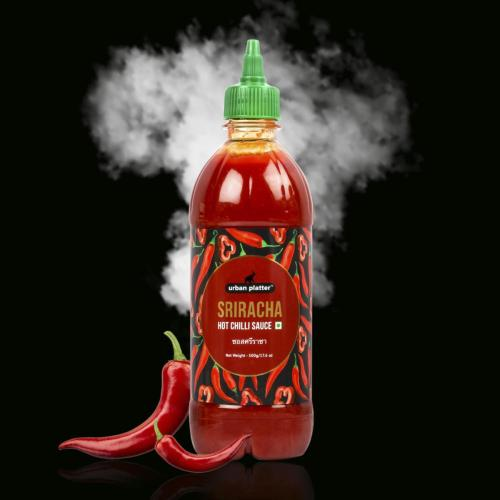 Urban Platter Sriracha Hot Chilli Sauce, 500g / 17.6oz [Versatile Sauce, Perfect Aroma & Taste]