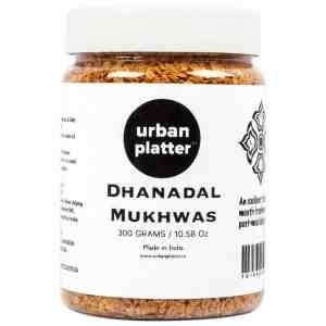 Urban Platter Dhanadal Mukhwas, 300g / 10.58oz [Mouth Freshener, Digestive, After-Meal Snack]