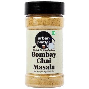 Urban Platter Bombay Chai Masala Shaker Jar, 80g / 2.82oz [Kadak & Khushbudaar Chai Masala]
