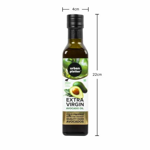 Urban Platter Extra Virgin Avocado Oil, 250ml [Powered by Black & Green, Cold Pressed, Product of Kenya]