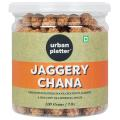 Urban Platter Jaggery Chana, 200g [Gur Chana, Deliciously Roasted Chana Coated in Jaggery]