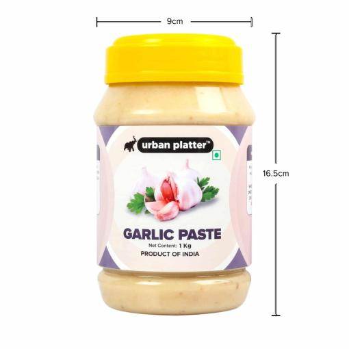 Urban Platter Garlic Paste, 1Kg / 35.2oz [All Natural, Premium Quality & Flavourful]