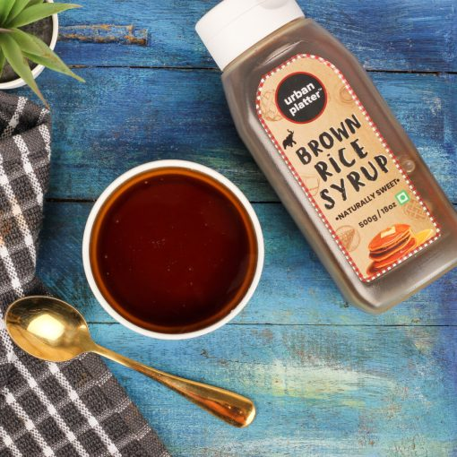 Urban Platter Organic Brown Rice Syrup, 400g / 14.11oz [Natural Sweetener, Vegan & Gluten-Free]