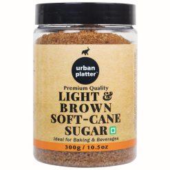 Urban Platter Light Soft Brown Cane Sugar, 300g