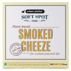 Urban Platter Vegan Smoked Cheeze, 200g / 7oz [Plant-Based Cheese, Lactose-Free, Powered by Soft Spot Foods]