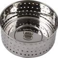 Urban Platter 100% Stainless Steel Paneer/Stainer Mould With Top Press Lid, 450 ml, Size 4