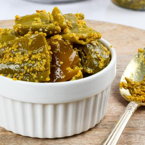Urban Platter Green Chilly Pickle, 400g