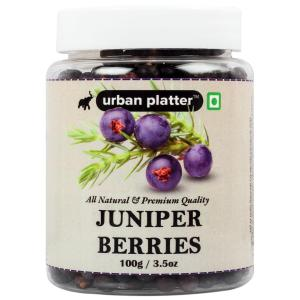Urban Platter Juniper Berries, 100g / 3.5oz [Product of Australia, Aromatic & Flavourful]