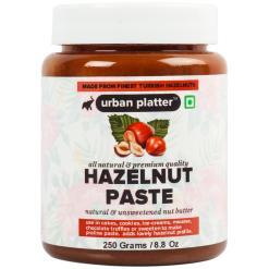 Urban Platter Pure Turkish Hazelnut Paste, 250g / 8.8oz [Natural & Unsweetened Nut Butter]