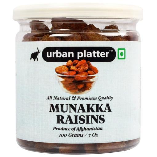 Urban Platter Afghan Munakka Raisins, 300g