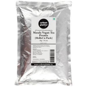 Urban Platter Vegan Tea Premix HoReCa/ Bulk Pack, Masala Chai, 1 Kg / 35.27oz [Just Add Water, Masala Tea, Dairy-Free Instant Tea]