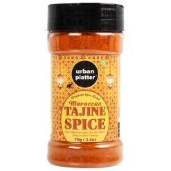 Urban Platter Moroccan Tajine Spice Shaker Jar, 70g / 2.4oz [Moroccan Spice for Tajine & Pilaf]