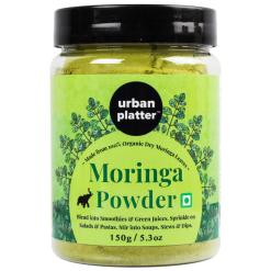 Urban Platter Moringa Leaf Powder, 150g / 5.29oz [Immunity Boost, Nourishing and Detoxifying]