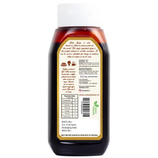 Urban Platter Arabian Date Syrup, 500g / 18oz [All Naturall Sweetener & Vegan]