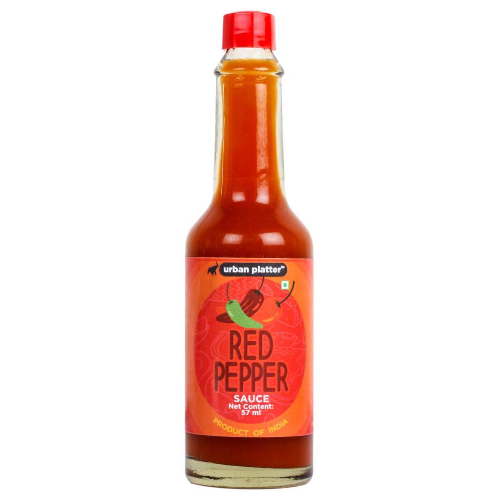 Urban Platter Red Pepper Sauce, 57ml [Hot Chilli Sauce]