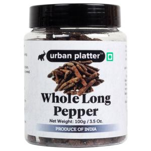 Urban Platter Whole Long Pepper (Pippali), 100g / 3.5oz [Jumbo Sized, Premium Quality, Aromatic]