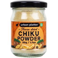 Urban Platter Freeze-Dried Chikoo Powder, 50g