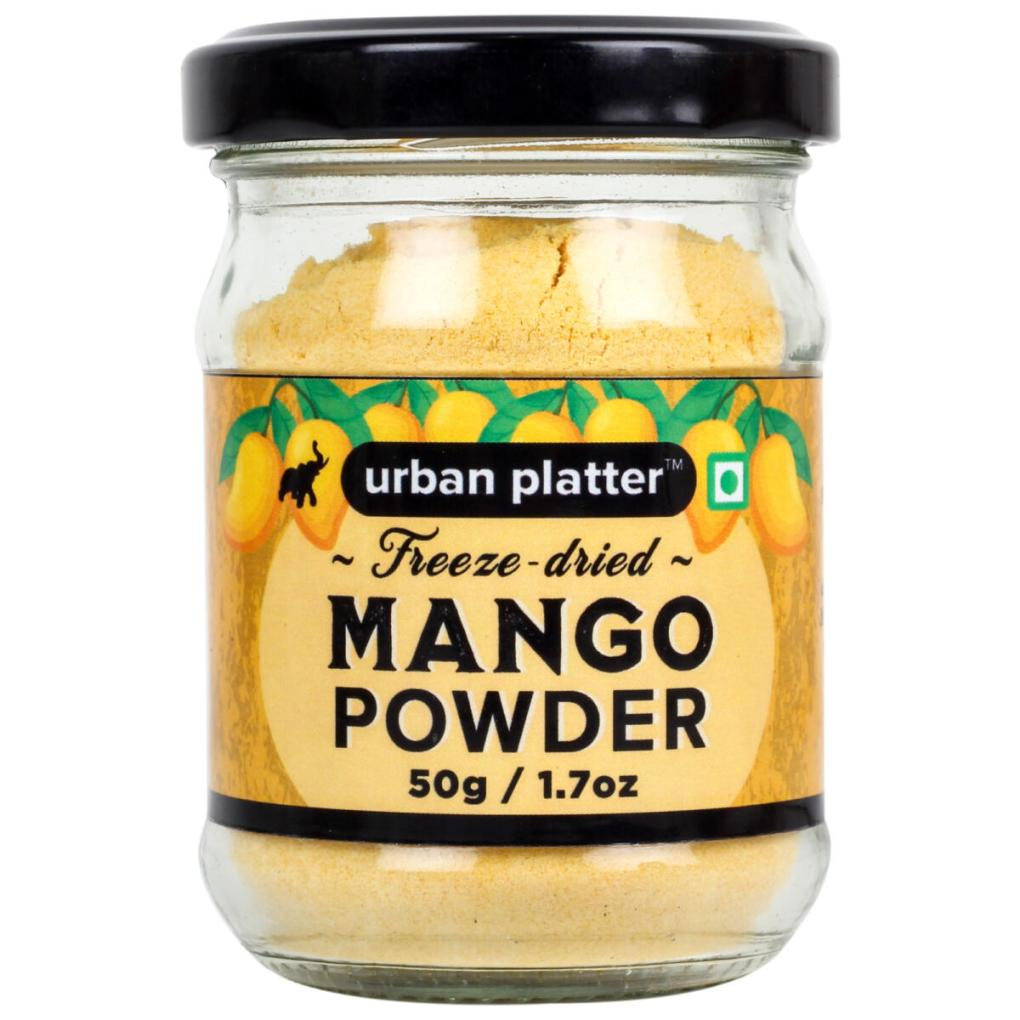 Urban Platter Freeze-Dried Mango Powder, 50g / 1.7oz [Freeze-Dried, Flavorful]