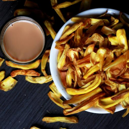 Urban Platter Home-made Delicious Jackfruit Chips, 400g