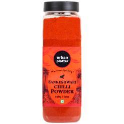 Urban Platter Sankeshwari Chilli Powder Shaker Jar, 350g / 12oz [Versatile Spice]
