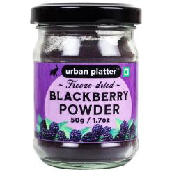 Urban Platter Freeze-Dried Blackberry Powder, 50g