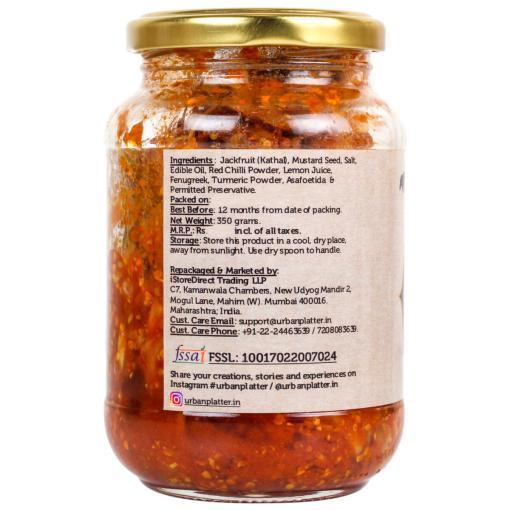 Urban Platter Spicy Jackfruit Pickle, 350g
