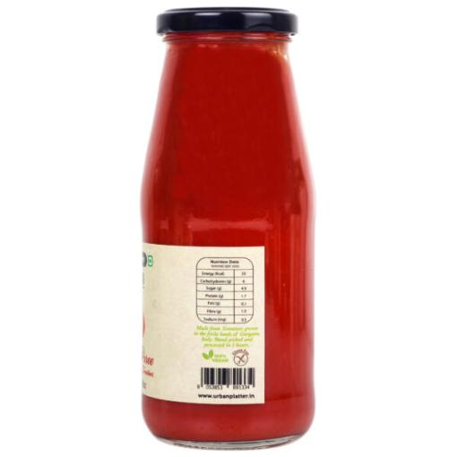 Urban Platter Cherry Tomato Puree, 420g / 14.8oz [Product of Italy, Intensely Flavourful]