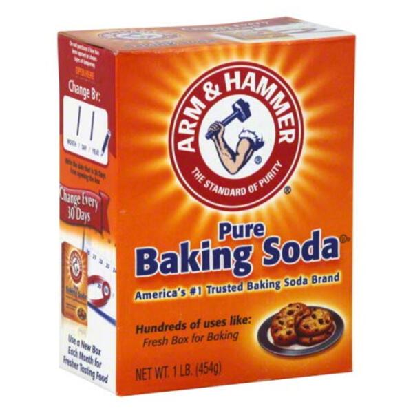 Arm & Hammer Pure Baking Soda Box 454g
