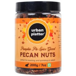 Urban Platter Pumpkin Pie Spiced Glazed Pecan Nuts, 200g